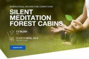 Sessiz Meditasyon için Orman Kabinleri Tasarımı Yarışması