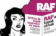 13. Raf Ürün Dergisi Kapak Tasarım Yarışması
