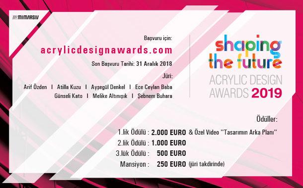 Acrylic Design Awards 2019