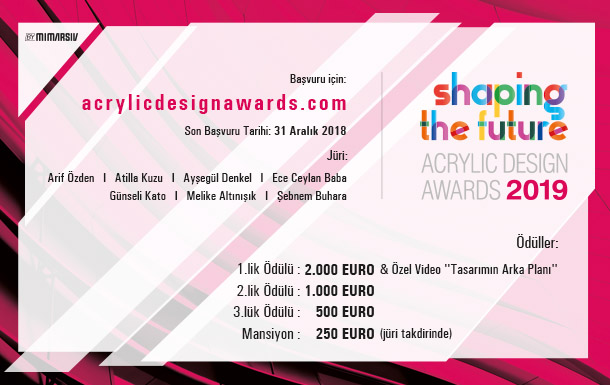 Acrylic Design Awards 2019