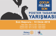 2019 Rotary Çocuk Felcine Son Afiş Tasarım Yarışması