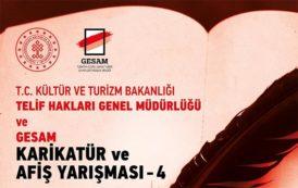 Telif Hakları Genel Müdürlüğü ve Gesam Karikatür ve Afiş Yarışması 4