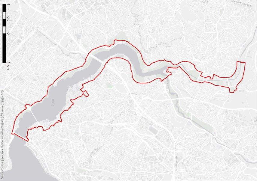 İstanbul Senin, Haliç Kıyıları Tasarım Yarışması