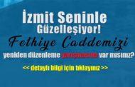 İzmit Belediyesi Fethiye Caddesi Yeniden Düzenleme Yarışması