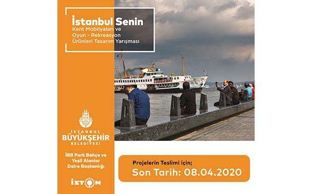 İstanbul Senin, Kent Mobilyaları ve Oyun-Rekreasyon Ürünleri Tasarımı Yarışması