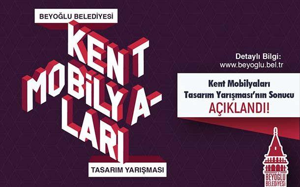 Beyoğlu Belediyesi Kent Mobilyaları Tasarım Yarışması Sonuçlandı