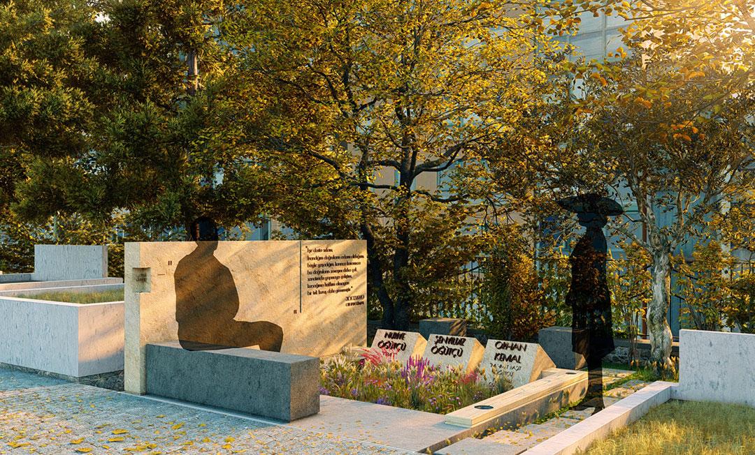 Orhan Kemal Mezarı Birincilik