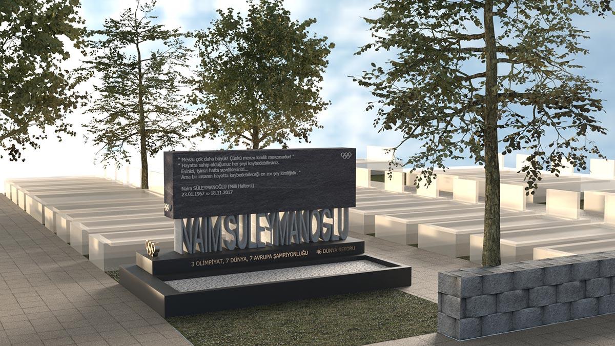 Naim Süleymanoğlu İstanbul'un Mezarları Tasarım Yarışması İkincilik